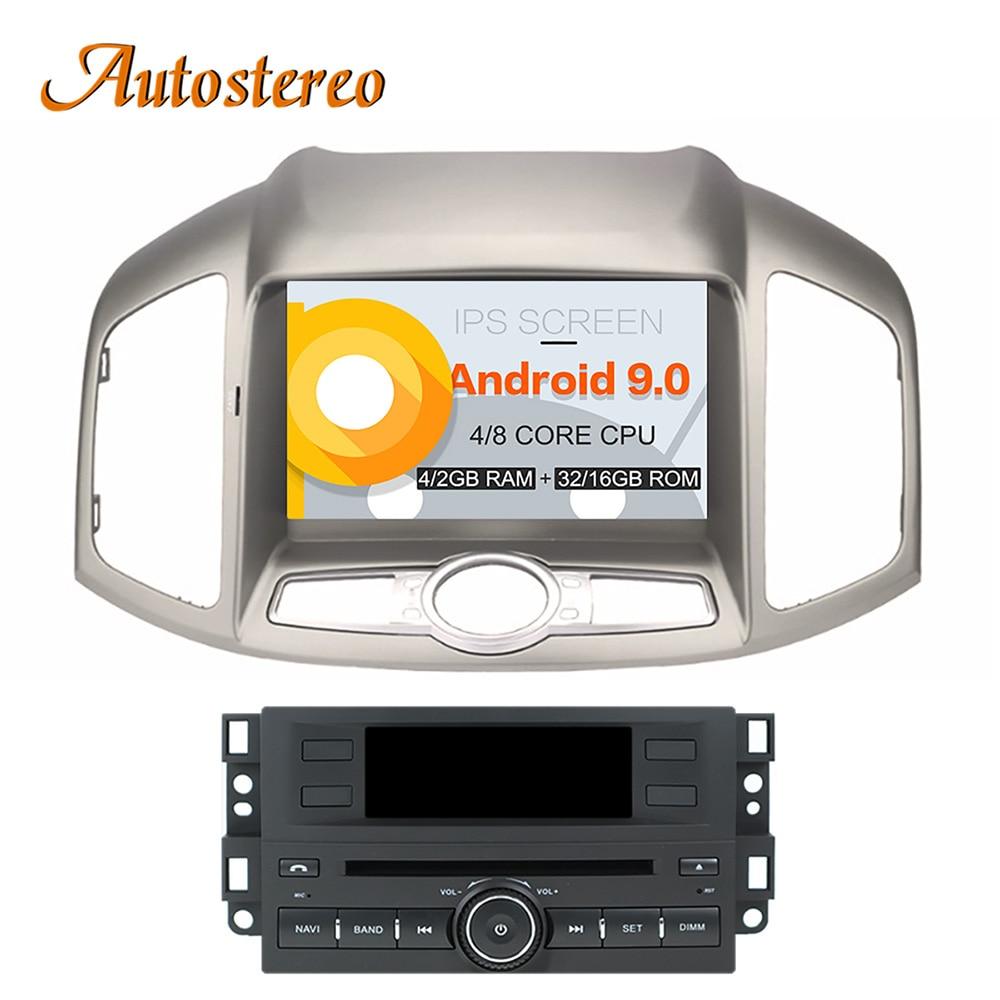 Android 9 Car CD DVD player AutoStereo GPS navigation for CHEVROLET CAPTIVA 2012 multimedia Satnav headunit