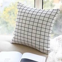 New Nordic Pillowcase Modern Design For Living Room Decorative 45x45cm Pillow Case Without Core Home Decoration Drop Shipping