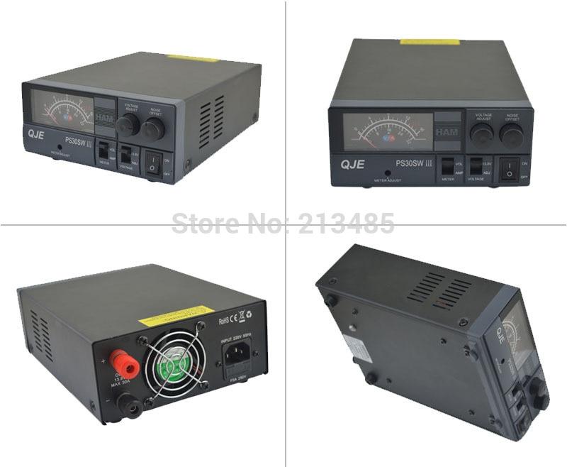 PS30SWIII Switching Mode DC Regulated Power Supply 9-15VDC 28-30Amp