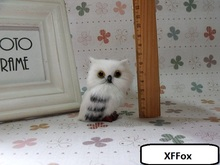 10 pieces a lot cute simulation left owl models polyethylene&fur real life dolls gift about 5x5x7cm xf1003