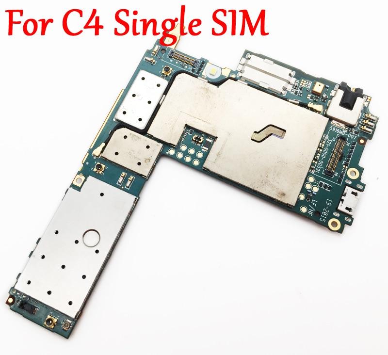 Full Work Original Unlock Motherboard For Sony Xperia C4 S55T E5303 E5306 E5353 Single SIM Logic