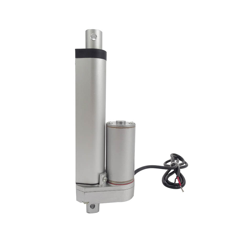 12V/24V DC Motor 250mm 10 Inch Stroke DC Linear Actuator 750N/75KG/165LBS Waterproof DC Motor 400mm multi function linear actuator motor stroke heavy duty dc 12v 75kg 165lbs reliable performance