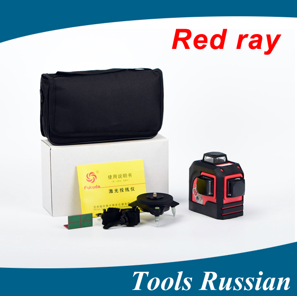 ship from Russia,MW-93T 3D 12Lines laser level,Red Laser level,Self-Leveling 360 Horizontal,Vertical Cross Super Powerful fukuda mw 99t 12lines 3d laser level self leveling 360 horizontal and vertical cross super powerful red laser beam line