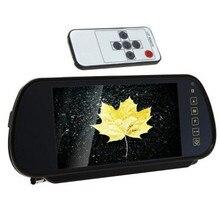 """7 """"pulgadas LCD Universal de HD Digital Coche DVR Pantalla Espejo Retrovisor Cámara de Visión Trasera Del Monitor 800×480"""