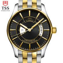 TSS мужские наручные часы Германия ЧПУ нержавеющей стали MIYOTA автоматические механические часы мужчины часы из нержавеющей стали