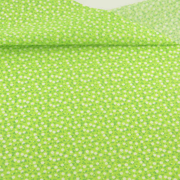 New Sewing Tecido 100% Cotton Fabric Home Textile Patchwork Scrapbooking Decoration Dolls Small Flowers and Leaves Design Cloth