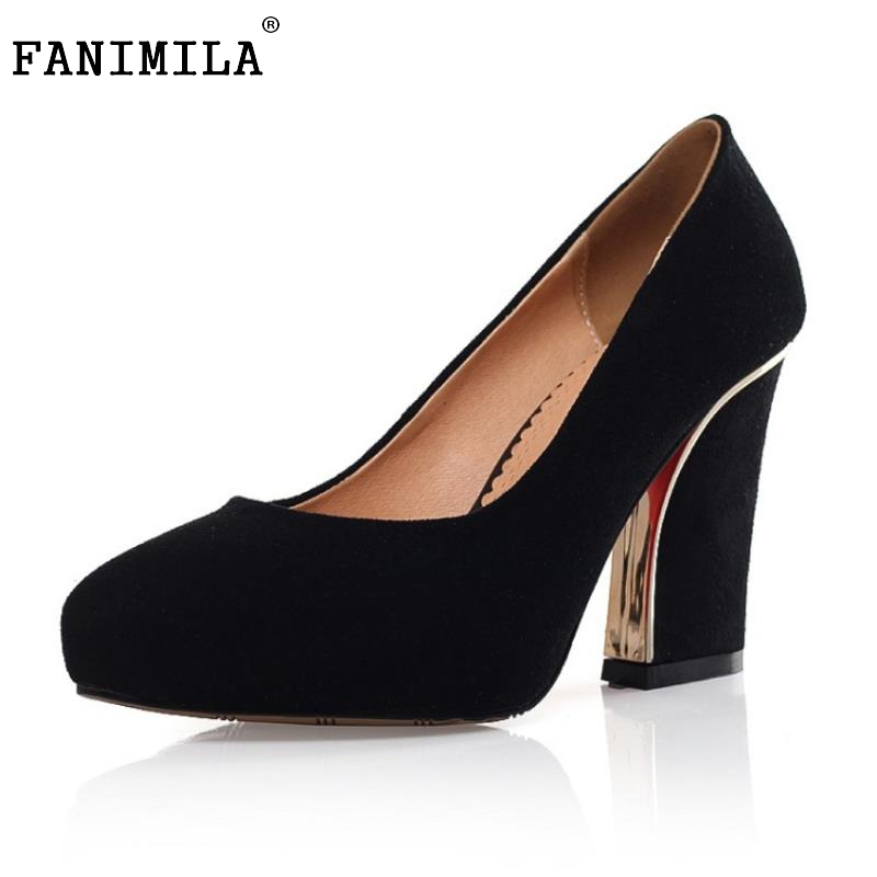 Female Geninue Leather High Heel Shoes Women Pointed Toe Thick High Heeled Pumps Office Lady Sexy Classic Footwear Size 34-39 women s geniune leather high heels shoes women pointed toe pure color high heeled pumps office lady sexy footwear size 33 40
