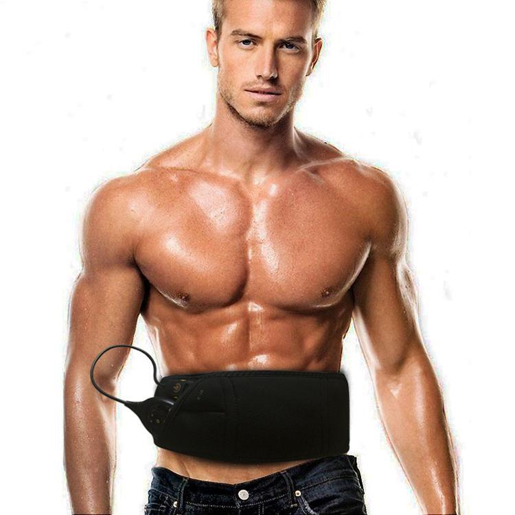 10 modes Muscle stimulator slimming massage belt Male Abdominal Muscle Toner Core Abs Workout Belt EMS train belt with 150 level