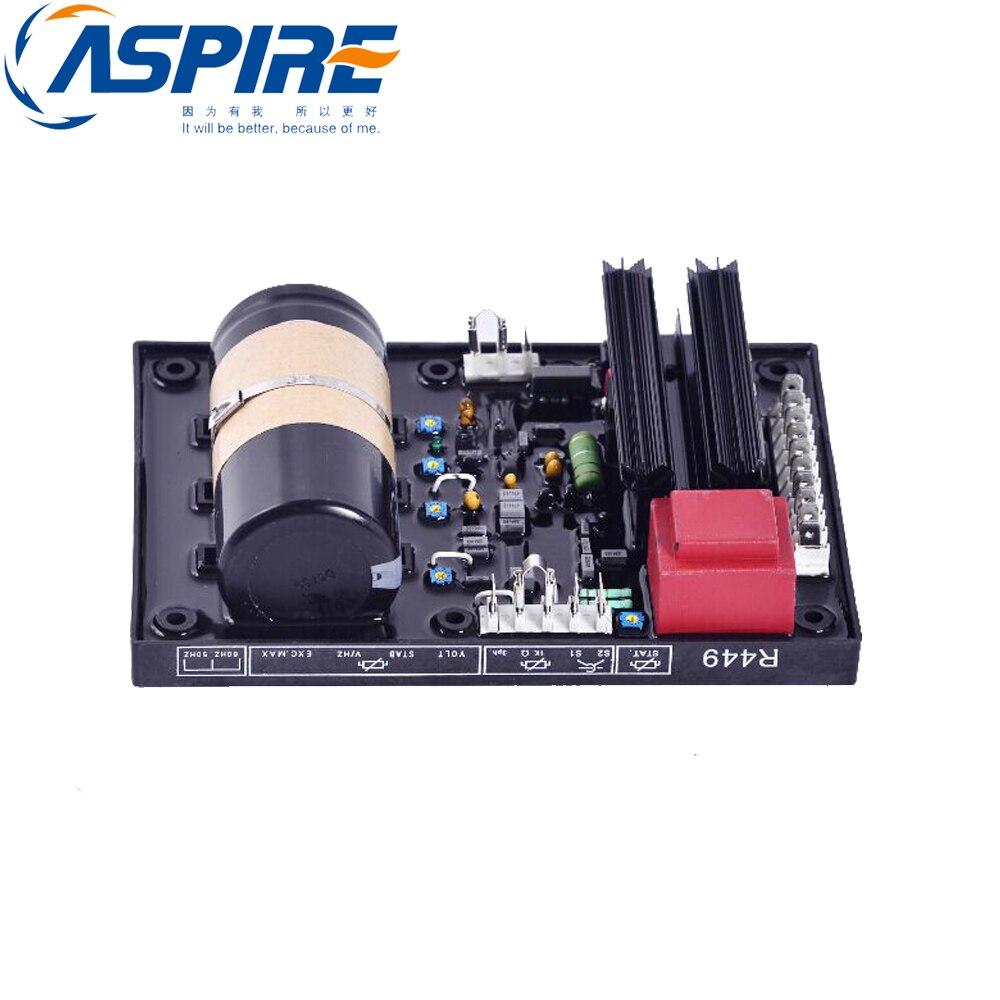 AVR R449 Automatic Voltage Regulator automatic avr r449 voltage regulator for cummins 900 kva generator