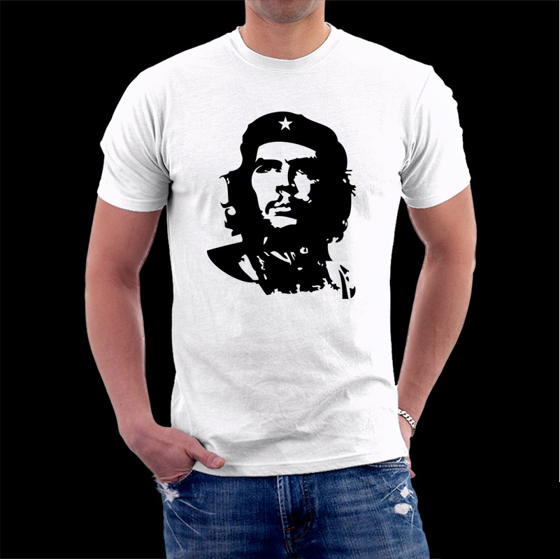 Head portrait che guevara lovers t shirt cotton short