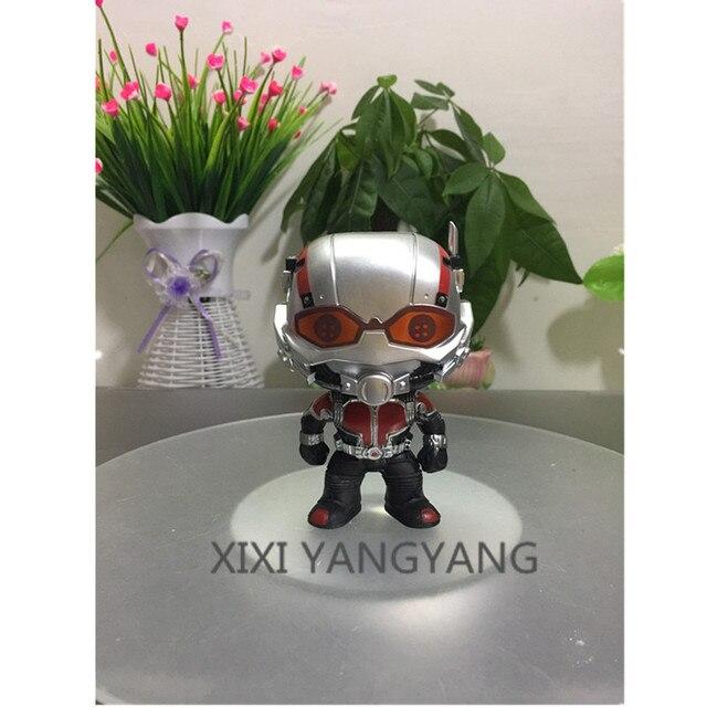 Avengers Superhero guerra infinito versão Q o Homem-Formiga companheiros do Homem de Ferro PVC Action Figure Collectible Modelo Toy com encaixotado Q112