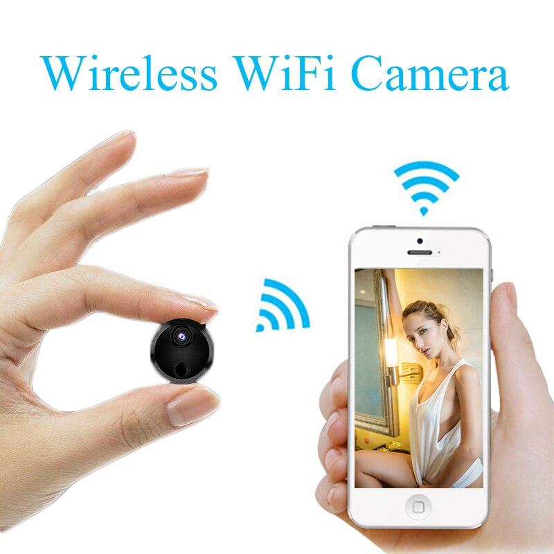 купить Volemer Mini Wifi IP Camera HD 1080P Infrared Night Vision Micro Camcorder Charge While Recording Recording Video Voice recorder по цене 1529.26 рублей