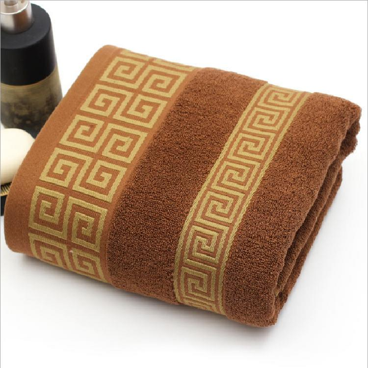 Hot sale 70*140cm 100% cotton large towel bath for men luxury high ...