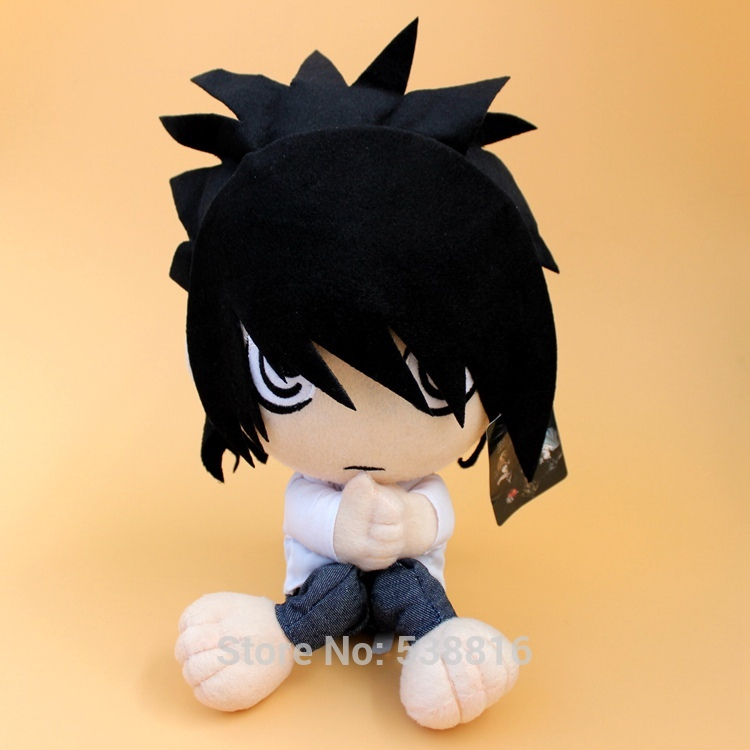 "Japanese Anime Death Note L Lawliet Plush Toy Soft Stuffed Doll 12"" 30 CM"