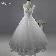 ZJ9076 C vestido de novia de 2 a 26W, blanco marfil, 2019, 2019, con fondo de encaje, de talla grande