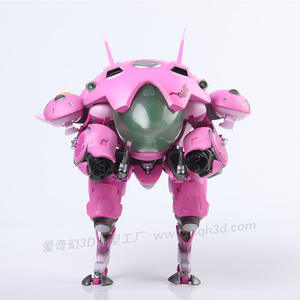 Resin-Model Wearable D.va-Tank Heroes-Armor OW 2M EVA Customized Free Thick