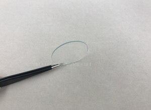 Image 2 - Montre minérale plat 138cs 1.0MM dépaisseur en verre minéral, choisissez des tailles de 16mm à 50mm pour les montres et la réparation, vente en gros