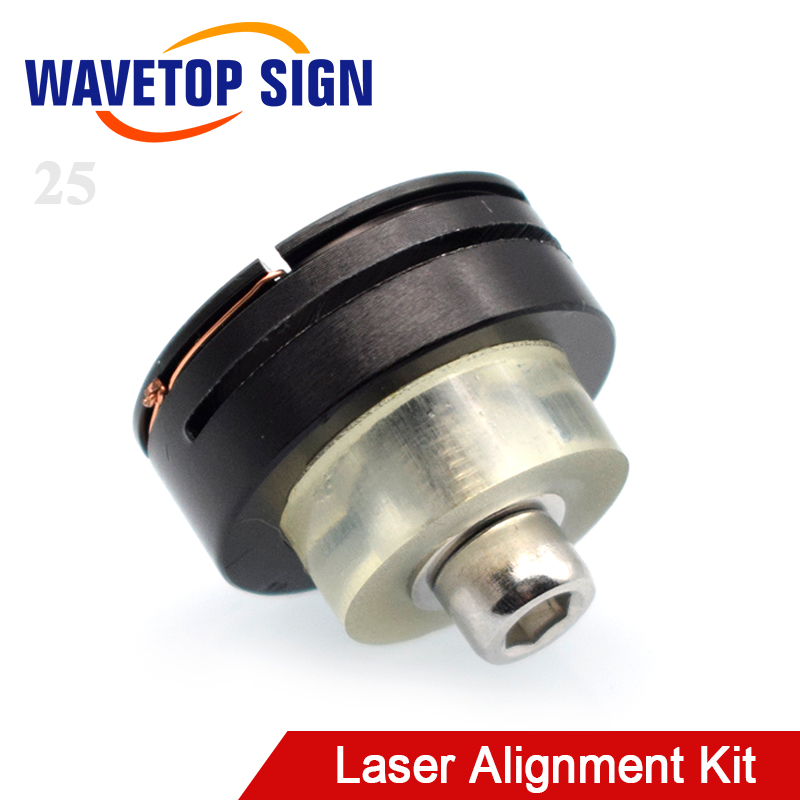 WaveTopSign Laser Path Calibrating Device Light Regulator Alignment Kit For CO2 Laser Cutting Machine To Adjust Collimate Laser