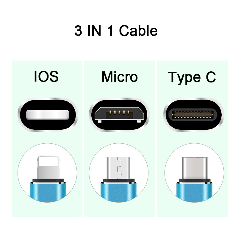 Suntaiho 3in1 USB Cable for iphone X micro usb cable for Xiaomi mi9 Type C Charger Cable for iphone Charging Cable Micro USB