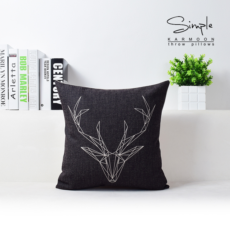Black And White Simple Geometric Pillowcase Valentine Lovers Couple Married  Cushion Bedroom Decor Pillows For Wedding. Popular Decorative Pillows for Bedroom Buy Cheap Decorative