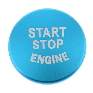 Image 3 - 1 Uds. Botón de arranque de motor de coche, accesorios de interruptor de parada de cubierta para BMW 1 2 3 4 Series F30 F20 F32 X1 F48 F45 Etc aluminio