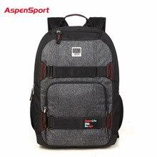 2018 Aspensport Brand Men Male Student Casual Backpack For Teenagers Vintage 15.6 Laptop Backpack School Bags Mochila Masculina