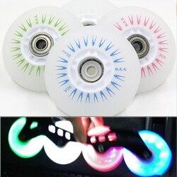 8 Pcs Patins Roda Flash LED Brilhante para 90A, Roller Skate de Patinação para Frenagem FSK Powerslide Patins SEBA