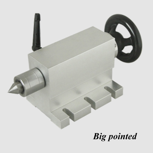 Contre-pointe CNC pour axe rotatif, axe A, axe 4th, outil de fraisage de gravure de la Machine 50mm de routeur de CNC