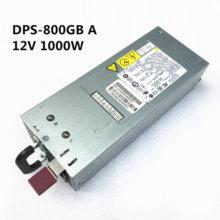 DL380G5 alimentación del servidor DPS 800GB un 82A 379123 001 399771 001 403781 001 12V82A 1000W de potencia de conmutación de alimentación 100% estricta prueba
