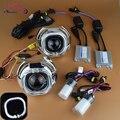 2.5 WST из светодиодов площадь глаза ангела гало HID биксенон объектива проектор лампы фар комплект LHD ржс фары линзы стайлинга автомобилей H1 H4 H7