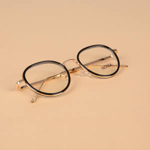 bf39efdde2 NOSSA Round Women Men s Myopia Glasses Frame Optical