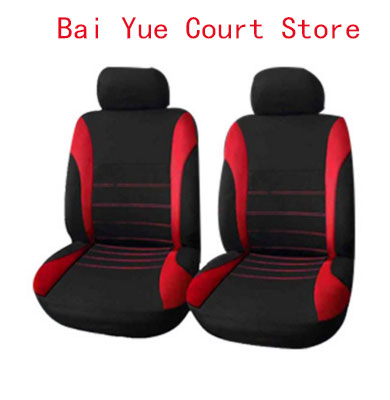 4Pcs Automobiles Seat Covers Full Car Seat Cover Universal Fit Interior Accessories Protector Color Gray Car-Styling Auto