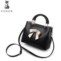 FOXER бренд сумка женский 2018 новая корейская мода одно плечо перекинул Сумочка мягкая кожа сумка
