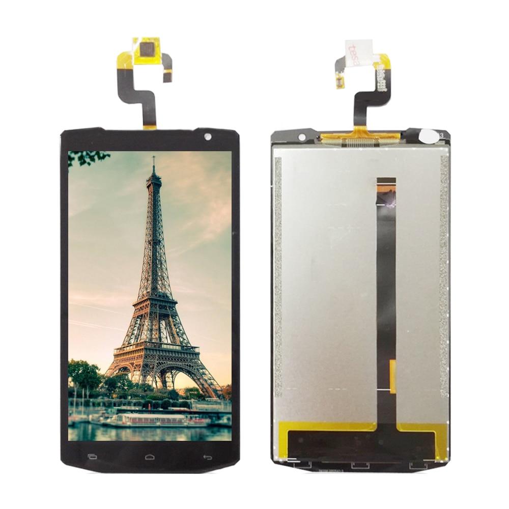 5,5 für oukitel k10000 k 10000 schwarz lcd display + touch screen glas digitizer assembly ersatz schwarz
