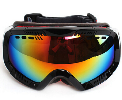 New 2015 Polisi Adult Ski Snowmobile Snow Anti-fog Goggles Sunglasses Motorcycle Snowboarding Mountaineering Glasses Eyewear