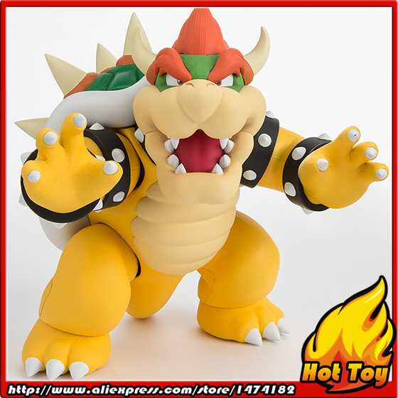 100% Original BANDAI Tamashii Nations S.H.Figuarts (SHF) Exclusive Action Figure - Bowser from Super Mario 100% original bandai tamashii nations s h figuarts shf exclusive action figure garo leon kokuin ver from garo