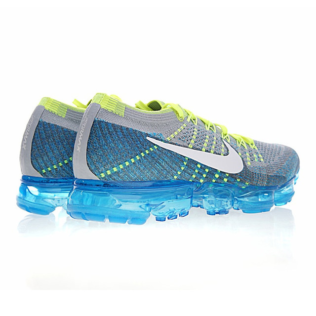 competitive price e1647 948d0 ... closeout nike air vapormax sprite mens running shoes light blue shock  absorption non slip wear resistant