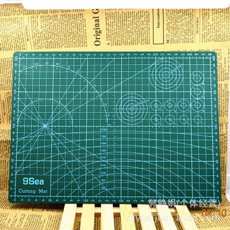A3 Cutting Mat 45*30cm Manual DIY Tool Cutting Board Double-sided Available Self-healing Cutting Pad