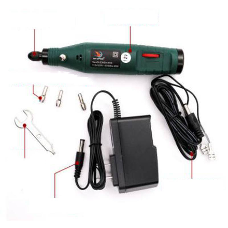 цена на Hoomall Wholesale DC Mini 12V Speed Small Electric Grinder Jade Engraving Marking Lettering Pen Charger Power Tool Accessories