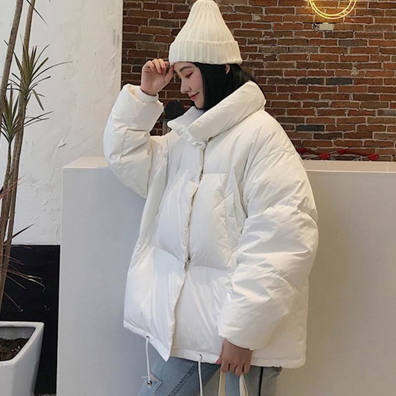 U-SWEAR Female Jacket Winter Coat Women   Parka   Fashion Oversize Thick Cotton Padded Winter Jacket Women Kurtka Zimowa Manteau