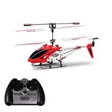 Envío gratis original syma s107 s107g 3.5ch metal mini helicóptero teledirigido con el girocompás de radio control remoto rc flying toys