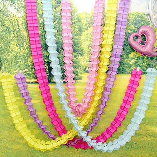 3M Four Leaf Clover Flower Paper Crafts Garlands Birthday Wedding Party Home Decor Baby Shower Festivals