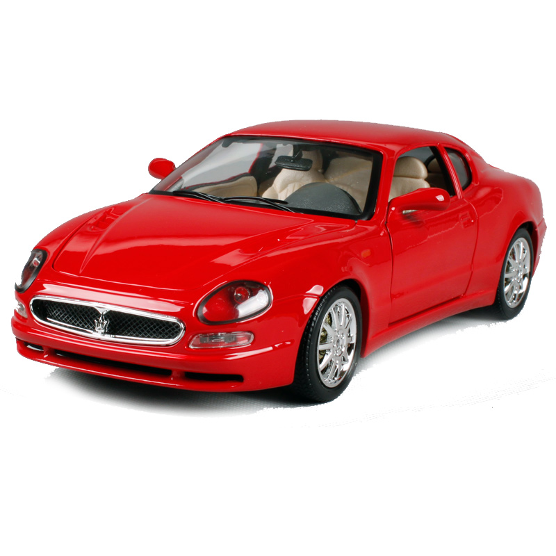 Red Luxury Cars: Bburago 1:18 Masera 3200gt Coupe Red Luxury Car Diecast