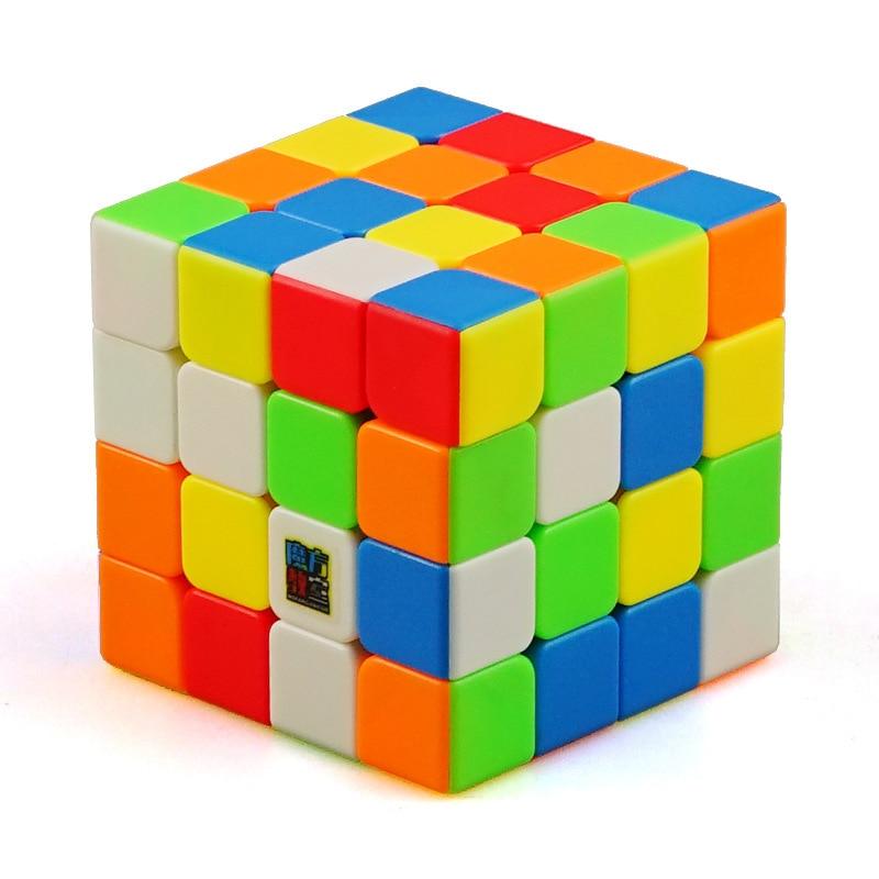 MoYu MeiLong 4x4 ABS Cubo mágico puzle profesional Magico Cubo velocidad educación suave 59 MM cubos juguetes para regalo de niños Cubo mágico sin etiqueta MoYu 3x3x3 meilong, Cubo de rompecabezas, cubos de Velocidad Profesional, juguetes educativos para estudiantes