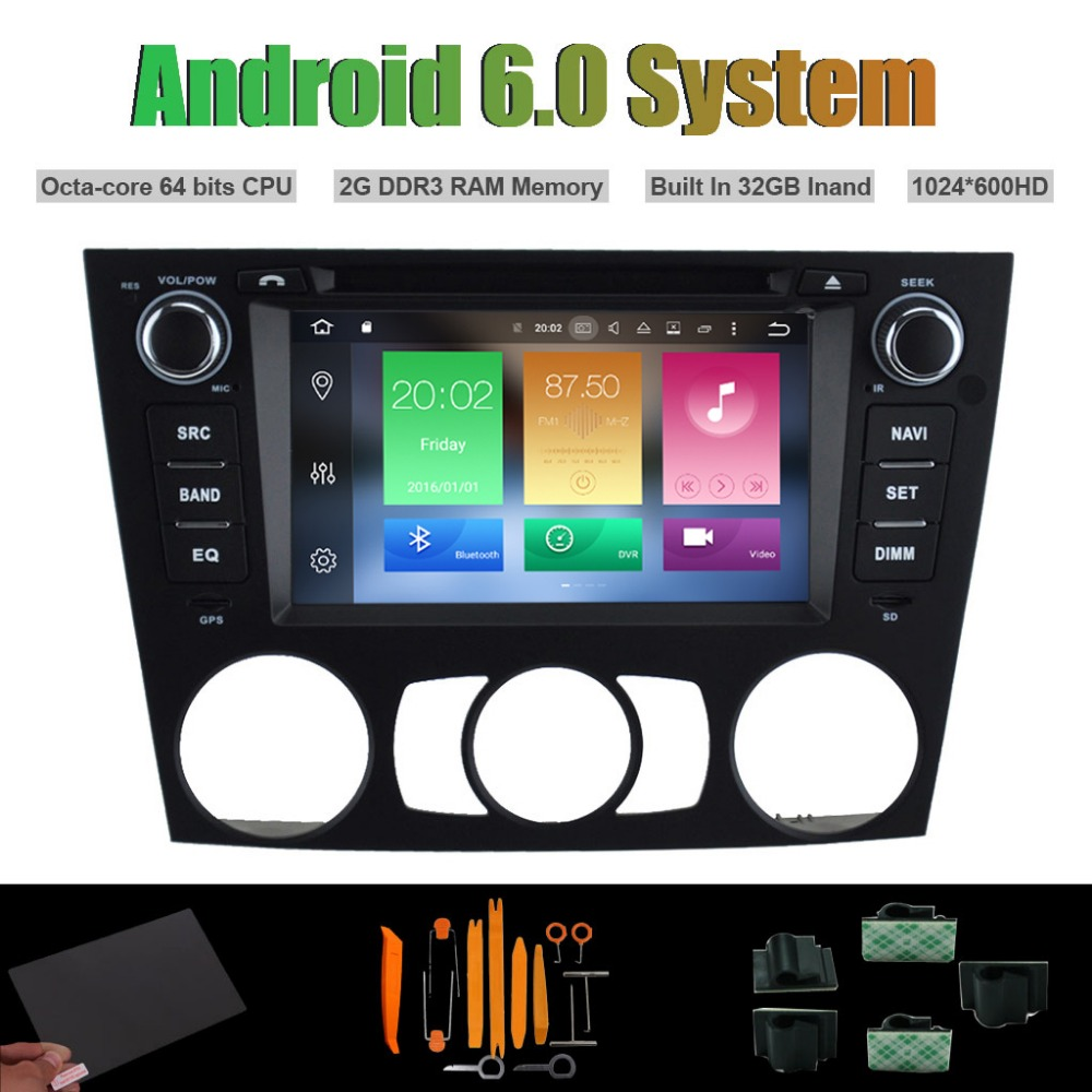 Android 6.0 Octa-core CAR DVD PLAYER for <font><b>BMW</b></font> <font><b>E90</b></font>/E91/E92/E93,3 Series(2005-2012) Manual Air-con Radio RDS STEREO WIFI 32G Flsh