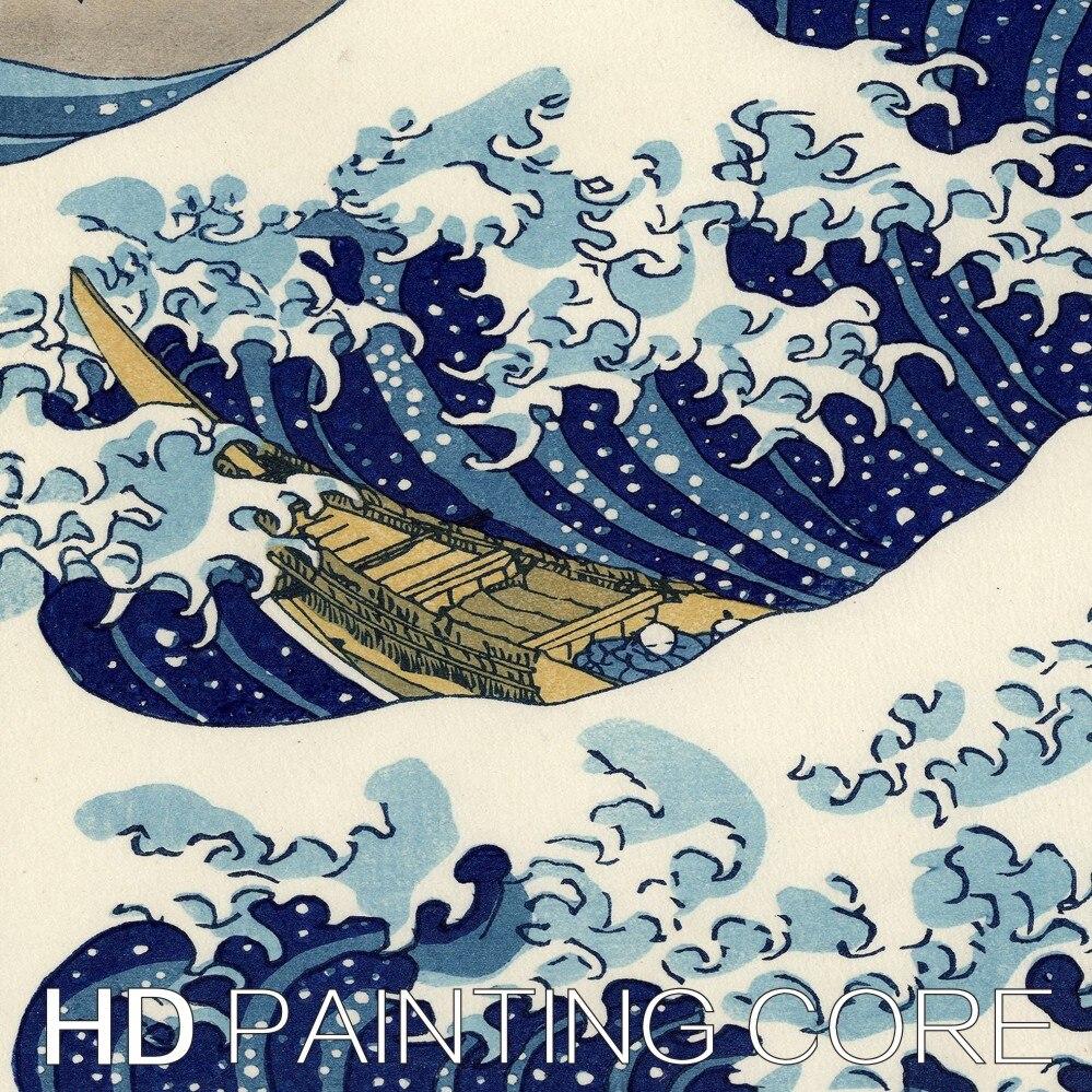 Тегін жеткізу Жапония кескіндеме 3 - Үйдің декоры - фото 4