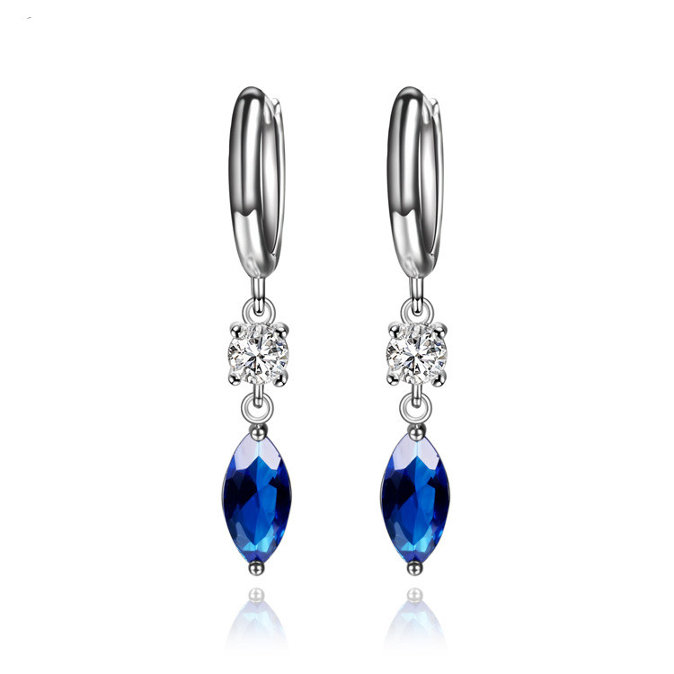 CMAJOR High Quality Trendy Zircon earrings with Multicolor Crystal Drop Earring Jewelry For Women
