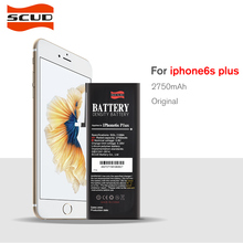 100% Original SCUD Mobile Phone Battery For iPhone 6s Plus Real Capacity 2750mAh With Repair Tools Kit And Sticker