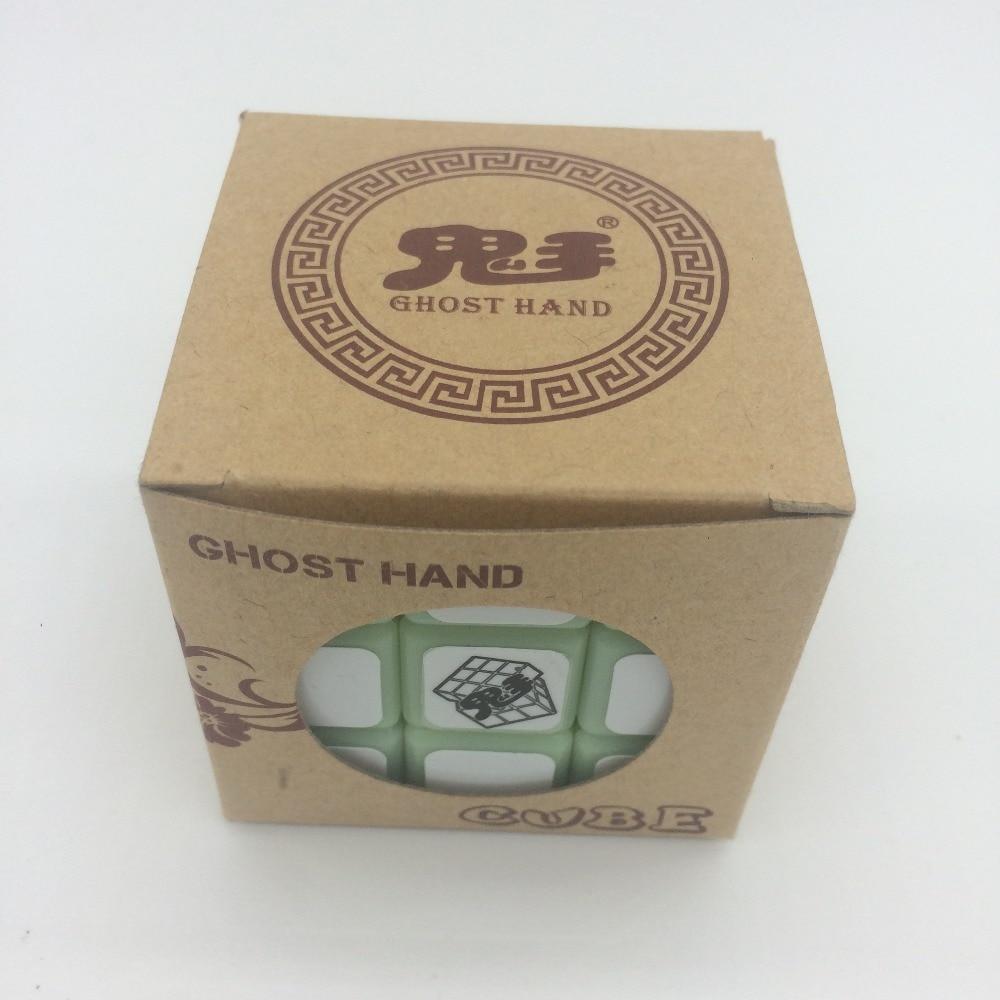 2018 Ny kommer magisk yoyo kube Noctilucent Magic Cube Professional 3 - Puslespill - Bilde 5