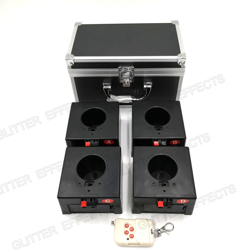 D04 wireless remote control 4 channel receiver box wedding pyro machine